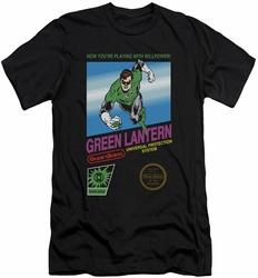 Green Lantern slim-fit t-shirt Box Art mens black