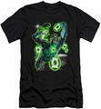 Green Lantern slim-fit t-shirt Earth Sector mens black