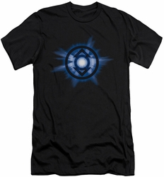 Green Lantern slim-fit t-shirt Indigo Glow mens black