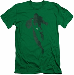 Green Lantern slim-fit t-shirt Lantern Knockout mens kelly green