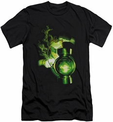 Green Lantern slim-fit t-shirt Lantern Light mens black