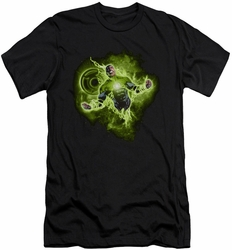 Green Lantern slim-fit t-shirt Lantern Nebula mens black