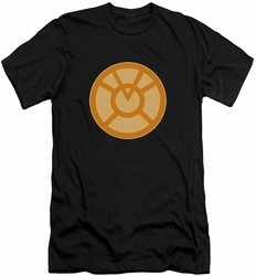 Green Lantern slim-fit t-shirt Orange Symbol mens black