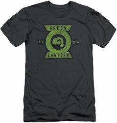 Green Lantern slim-fit t-shirt Section mens charcoal