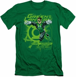 Green Lantern slim-fit t-shirt Sector 2814 mens kelly green