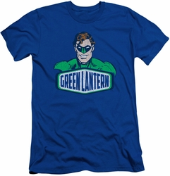 Green Lantern slim-fit t-shirt Sign mens royal