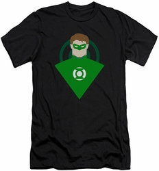 Green Lantern slim-fit t-shirt Simple mens black