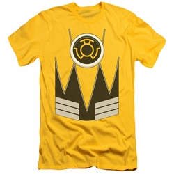 Green Lantern slim-fit t-shirt Sinestro mens yellow