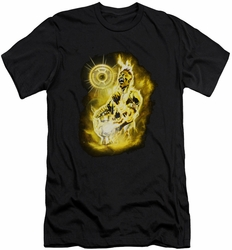 Green Lantern slim-fit t-shirt Sinestro Nebula mens black