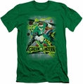 Green Lantern slim-fit t-shirt Space Sector 2814 mens kelly green