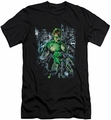 Green Lantern slim-fit t-shirt Surrounded By Death mens black