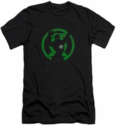 Green Lantern slim-fit t-shirt Symbol Knockout mens black