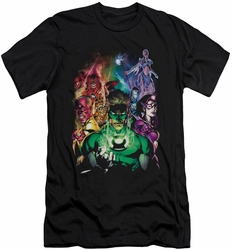 Green Lantern slim-fit t-shirt The New Guardians mens black