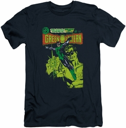 Green Lantern slim-fit t-shirt Vintage Cover mens navy