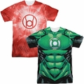 Green Lantern mens sublimation t-shirts