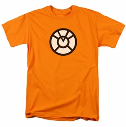 Green Lantern t-shirt Agent Orange mens orange