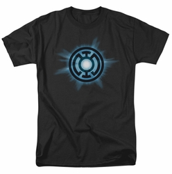 Green Lantern t-shirt Blue glow mens black