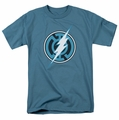 Green Lantern t-shirt Blue Lantern Flash mens slate