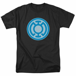 Green Lantern t-shirt Blue Symbol mens black