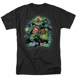 Green Lantern t-shirt Corps #1 mens black