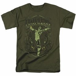 Green Lantern t-shirt Fearless mens