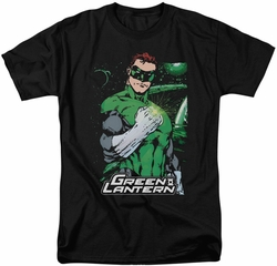Green Lantern t-shirt Fist Flare mens black