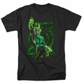 Green Lantern t-shirt Fully Charged mens black