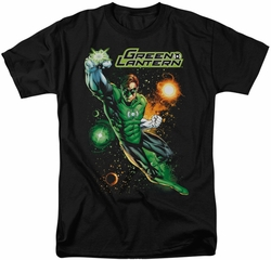 Green Lantern t-shirt Galactic Guardian mens black