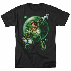 Green Lantern t-shirt Galaxy Glow mens black