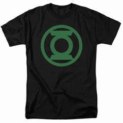 Green Lantern t-shirt Green Emblem mens black