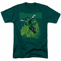 Green Lantern t-shirt Green Lantern #166 Cover mens hunter green