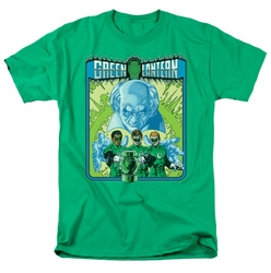 Green Lantern t-shirt Green Lantern #184 Cover mens kelly green