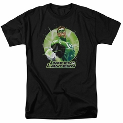 Green Lantern t-shirt Green Static mens black