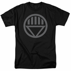 Green Lantern t-shirt Grey Emblem mens black
