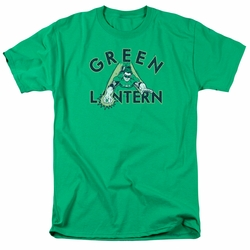 Green Lantern t-shirt In Flight mens kelly green