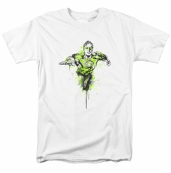 Green Lantern t-shirt Inked mens white