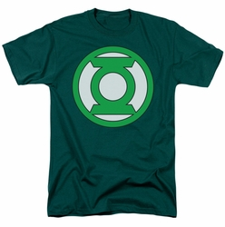 Green Lantern t-shirt Lantern Logo mens hunter green