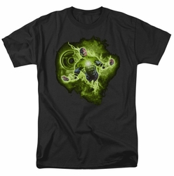 Green Lantern t-shirt Lantern Nebula mens black