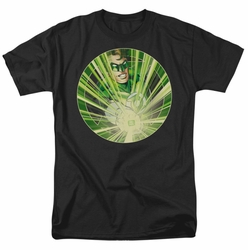 Green Lantern t-shirt Light Em Up mens black