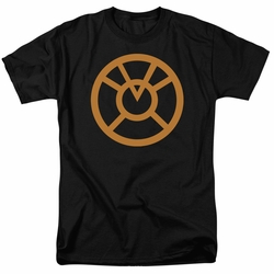 Green Lantern t-shirt Orange Emblem mens black