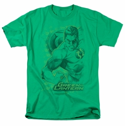 Green Lantern t-shirt Pencil Energy mens