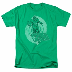 Green Lantern t-shirt Power mens kelly green