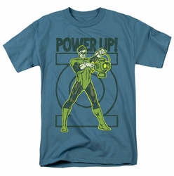 Green Lantern t-shirt Power Up mens slate
