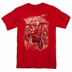 Green Lantern t-shirt Red Lanterns #1 mens red