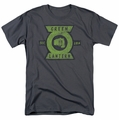 Green Lantern t-shirt Section mens charcoal