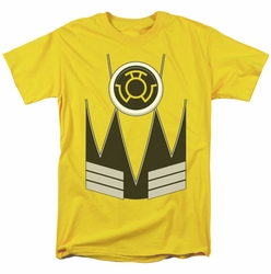 Green Lantern t-shirt Sinestro mens yellow