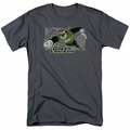 Green Lantern t-shirt Space Cop mens charcoal