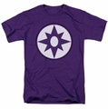 Green Lantern t-shirt Star Sapphire Logo mens purple