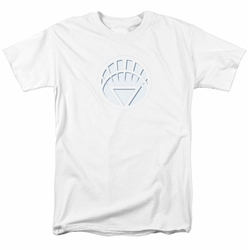 Green Lantern t-shirt White Lantern Logo mens white
