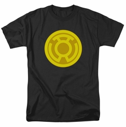 Green Lantern t-shirt Yellow Symbol mens black